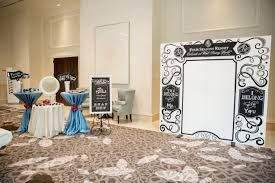 white big board large photo booth backdrop chalk shop events