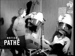 old ladies hair salon ladies hairdressers 1964 youtube