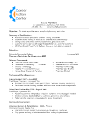 Resume Sample Format Download Pdf by Pharmacy Technician Resume Examples Free Resume Example And