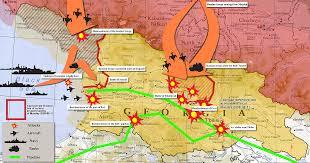 south ossetia map war and peace possible scenarios despiteborders