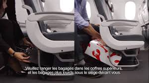 air siege plus air canada boeing 787 in flight safety