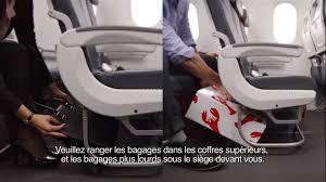 air siege plus air canada boeing 787 in flight safety