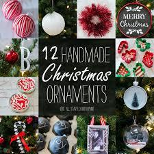 handmade christmas ornaments handmade ornaments