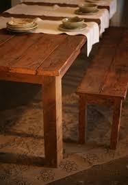 Farmhouse Table by Antique Pine Farmhouse Table