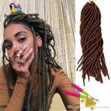 interlocking hair 18inch goddess locs braids dreadlocs interlocking synthetic hair
