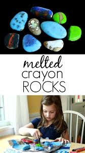 How To Get Crayon Off The Wall by How To Make Melted Crayon Rocks A Favorite In Our House