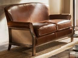 canap cuir vieilli canapé ou fauteuil en cuir vieilli et en lorreta