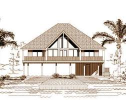 Beach Style House Plans Beach Style House Plans Plan 19 403