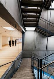 Precast Concrete Stairs Design Whitney Museum Of American Art By Renzo Piano Building Workshop