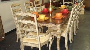 french provincial dining room set country french dining room set used antique sets klaussner