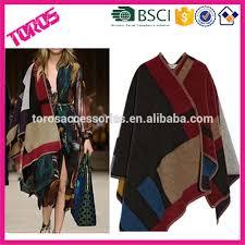 plaid en cachemire hiver femmes manteaux à carreaux surdimensionné marque écharpe en