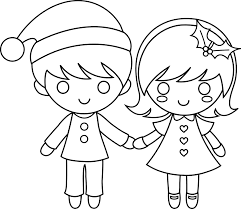 free coloring pages colorable christmas kids colour drawing for