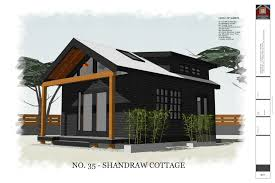 free small house plans no 35 shandraw cottage 320 sq ft 16 x 20 house with porch