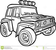 jeep drawing cartoon jeep border stock illustration image of auto 42810936