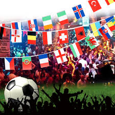 Football Country Flags 2017 String Flag 24 Countries Around The World Nation Flag Small