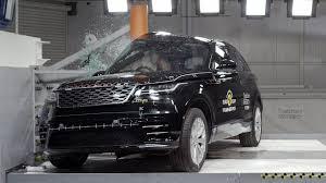 range rover velar crash test euro ncap rating youtube