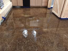 Concrete Staining Pictures by Acid Staining Our Concrete Floors An Expensive Look At Little Cost