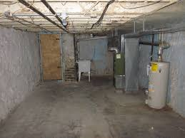 Row Home Decorating Ideas Unfinished Basement