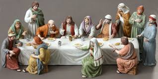 home interior porcelain figurines lord s last supper figurine set home interiors 12 disciple