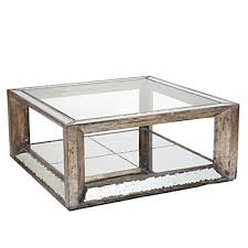silver mirrored coffee table top pascual mirrored coffee table z gallerie for antique mirror