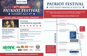 Map Of Pigeon Forge Tennessee by 4th Of July Patriot Festival Concert U0026 Fireworks In Pigeon Forge Tn