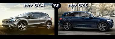 mercedes gla compact suv mercedes gla vs 2017 mercedes glc