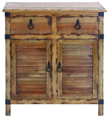Metal And Wood Cabinet 2 Drawer Natural Wood Cabinet Rustic Accent Chests And
