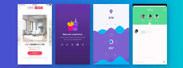 top colors 2017 top 5 mobile interaction designs of june 2017 proto io blog
