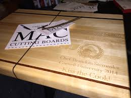 personalized engraved cutting board wedding gifts mac cutting boards