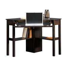 amazon com tms corner desk black finish kitchen dining clipgoo