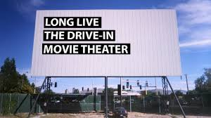 a tribute to the drive in movie theater tested
