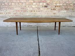 Slat Bench Coffee Table Circa Midcentury U0027danish Modern U0027 Slat Bench Coffee Table