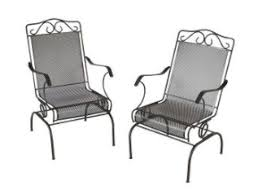 Home Depot Patio Clearance Home Depot Napa 2 Piece Wrought Iron Patio Chair Set 52 Shipped