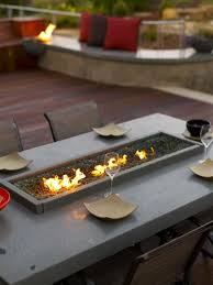 Fire Patio Table by Entertain In Winter Around These 28 Sizzling Fire Pits
