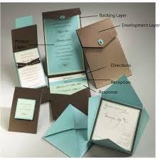 pocket wedding invitation kits pocket wedding invitation kits for