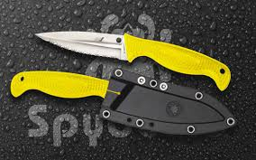 the spyderco fish hunter is a versatile surf and turf knife