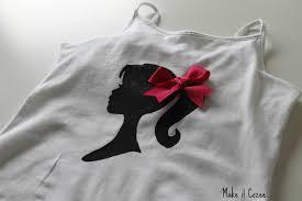 cozee tutorial barbie screen print shirt headband