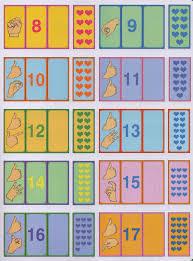 New Idéias Para ensinar Surdos: Jogo Números sinal quantidade em Libras @KL31