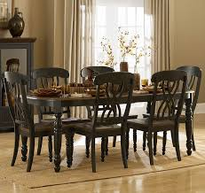 Five Piece Dining Room Sets Homelegance Ohana 5 Piece Rectangular Dining Room Set In Black