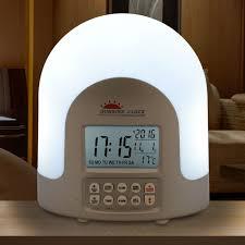 diy diy sunrise alarm clock decor modern on cool wonderful under