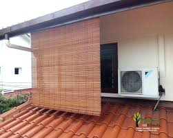 outdoor blinds for porch medium size of bamboo roman shade for