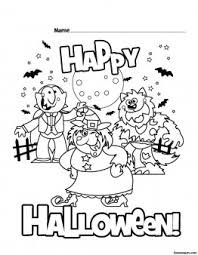 printable happy halloween coloring pages printable coloring