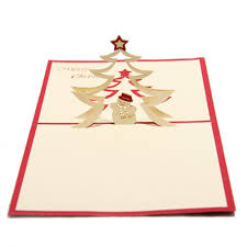 pop up new year tree online hoomall 1pc 3d pop up tree card new