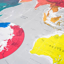 Huge World Map by Huge Future World Map Version 3 Paper The Future Mapping