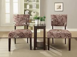Large Accent Chair New 3 Pc Accent Chairs U0026 Side Chair Table Set Large Flower Print