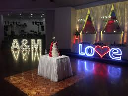 large light up letters glam events sa led large light up letters
