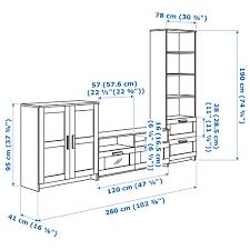 Wohnzimmer Osnabr K Brimnes Tv Möbel Kombination Schwarz Ikea