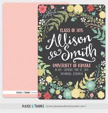 trendy graduation announcement e card sle with colorful floral