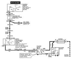 wiring diagram for starter 1998 ford expedition