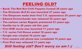 Feeling Old Meme - feeling old